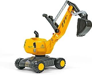 Escavatore Giocattolo a Pedali Cavalcabile con Omaggio Trattore a Frizione Gioco