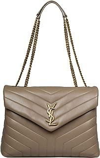 Luxury Fashion   Saint Laurent Womens 574946DV7271722 Grey Shoulder Bag   Fall Winter 19