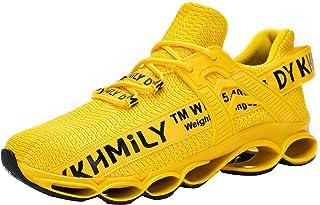 DYKHMATE Chaussure de Securite Homme Femme TPU Legere Respirant Baskets de Sécurité Embout Acier Chaussures de Travail Ant...