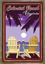 Northwest Art Mall Colonial Beach Virginia Rustic Metal Print on Reclaimed Barn Wood by Joanne Kollman (24