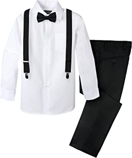 Boys' 4-Piece Suspender Outfit