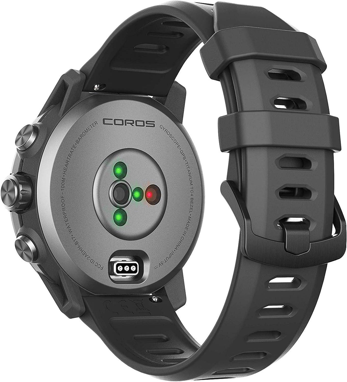 COROS Montre GPS Multisports APEX noir