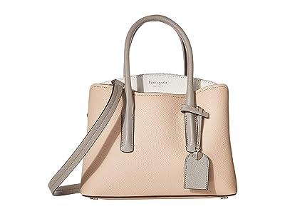 Kate Spade New York Margaux Medium Satchel (Blush Multi) Satchel Handbags