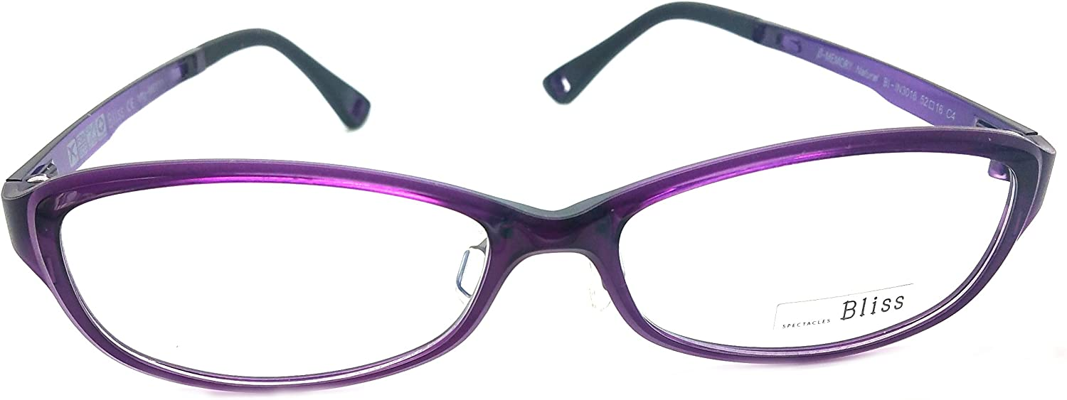 Bliss Prescription Eye Glasses Frame Ultem Super Light, Flexible 3016 C4