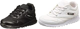 Force 10 (from Liberty) Boy's Formal Shoes Combo (Back +White)