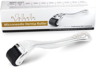 Microneedle Derma Roller 540 0.25mm Cosmetic Needling Instrument for Face [Includes Storage Case]