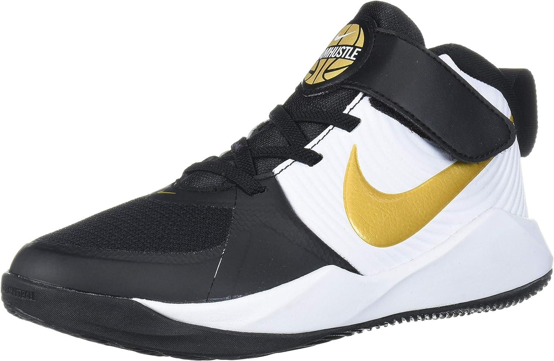 Nike Unisex-Child Team Hustle D 9 (Ps) Sneaker
