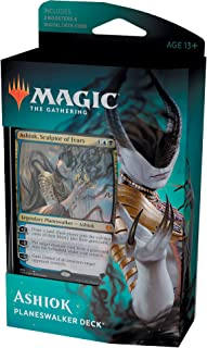 Magic: The Gathering Ashiok, Sculptor of Fears Planeswalker Deck | Theros Beyond Death | 60-Card Starter Deck