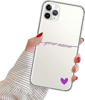 Suhctup Personalizzata Cover per Samsung Galaxy Note 10 Custodia in TPU con Cuore Testo Personalizzabili Regalo Case Ultra...