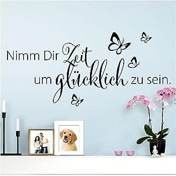"""A570 Wandtattoo """"Zitat aus Der Kleine Prinz"""" 92cm x 60cm"""