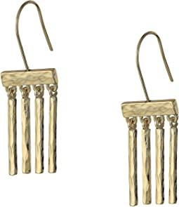 Metal Stick Drop Earrings