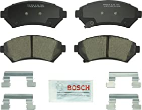 Bosch BC699 QuietCast Premium Ceramic Disc Brake Pad Set For Select Buick Century, LeSabre; Cadillac Seville; Chevrolet Impala, Monte Carlo; Oldsmobile Intrigue; Pontiac Grand Prix + More; Front