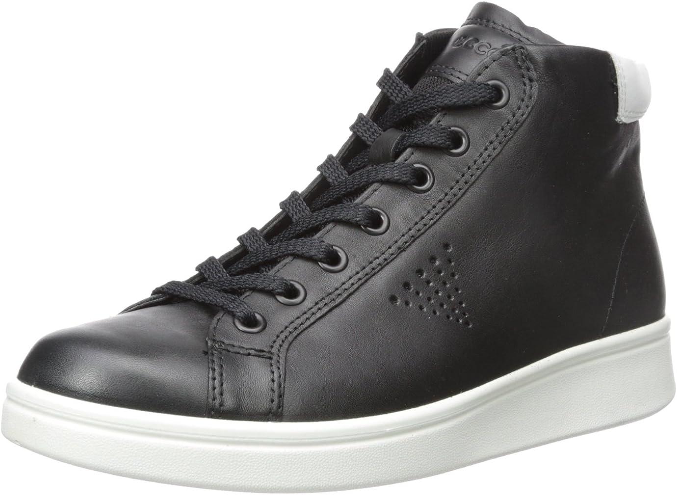 ECCO Women's Soft 4 High Top Fashion Sneaker