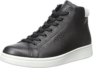 ECCO Womens Soft 4 High Top Soft 4 High Top Black Size: