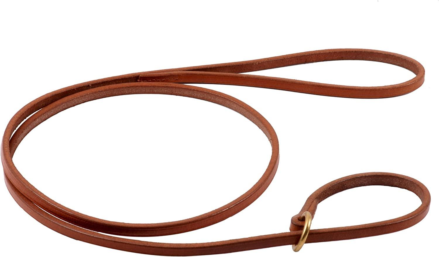 Alvalley Flat Slip Lead for Dogs 3 16 in x 4ft