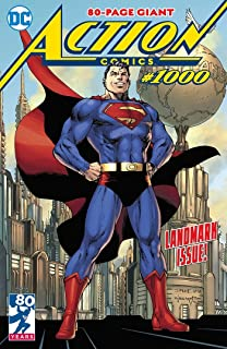 Action Comics #1000 Regular Cover by Jim Lee Comic