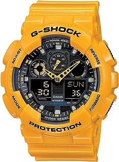 Casio G-Shock Analog-Digital Black Dial Mens Watch - GA-100A-
