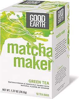 Good Earth Matcha Maker Green Tea 18 Tea Bags (pack of 1)