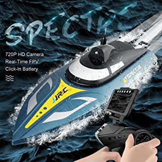Dilwe RC Barco V792-4 2.4GHz Alta Velocidad 1800KV Brushless Waterproof El/éctrico Control Remoto Race Barco Juguetes