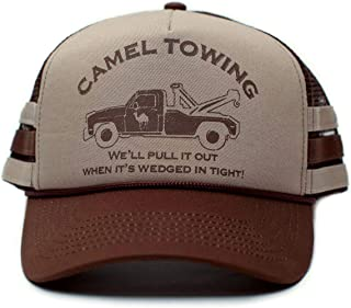Camel Towing Co. Funny Hat Humor Rude Brown/Tan Cap Truckers