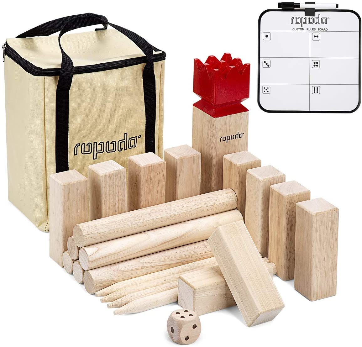 ropoda Sale SALE% OFF Manufacturer OFFicial shop Kubb Game Premium Set - Lawn for Yard Be Outdoor