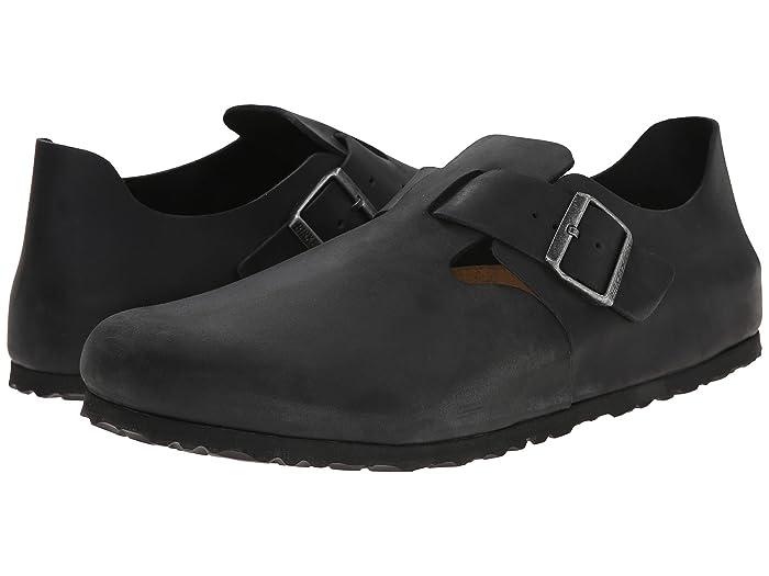 LONDON NARROW Slipper black