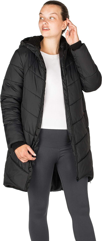 Modern Eternity Maternity Cocoon Puffer Coat w// 3-in-1 Tech Harper