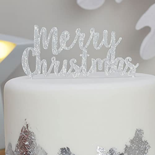 Christmas Cake Toppers Uk