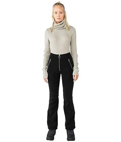 HOLDEN OUTERWEAR High-Waisted Softshell Pants (Jet Black) Women