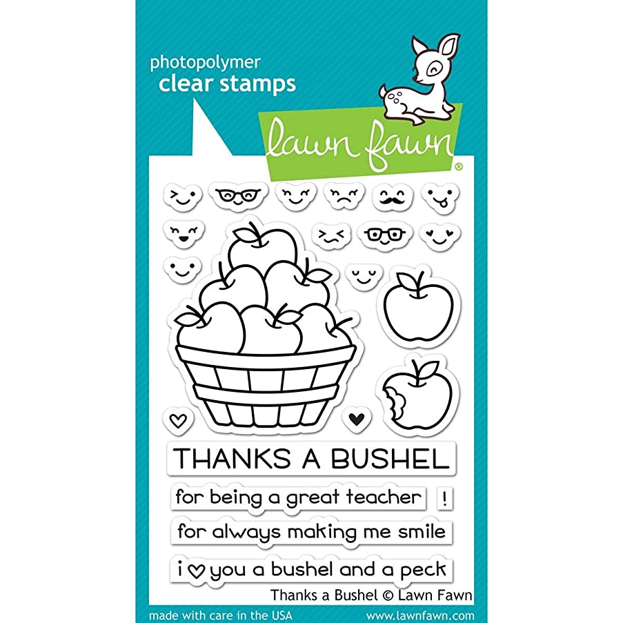 Lawn Fawn Clear Stamps - LF1208 Thanks A Bushel