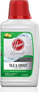 Best Hoover Renewal Tile and Grout Floor Cleaner, Concentrated Cleaning Solution for FloorMate Machines, 32oz Formula, AH30433, White Review
