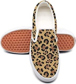 Snow Leopard 1-01 Classic Canvas shoes Slip On Skate Sneakers women Fashion Print cool Durable shoe