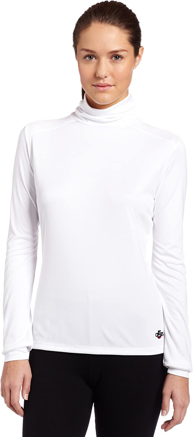 Hot Chillys Womens Peach Roll T-Neck Base Layer Top