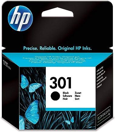 HP (CH561EE) 301 Cartouche d'Encre Noir Authentique