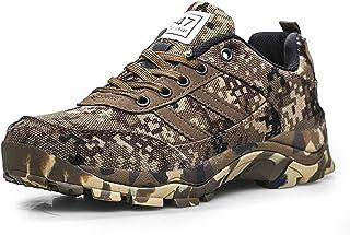 CHNHIRA Homme Chaussure D'Armée Camouflage Chaussure de Course Randonnée en Plein Air Plate-Forme Chaussures
