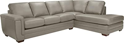 Amazon.com: Talia Conversation Sectional Sofa with Built-in ...