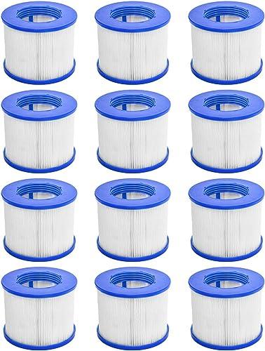 CosySpa Filtre pour Jacuzzi Spa Gonflable Cartouche Filtration Standard et Vissées pour Spa   Pack de 1, 6 et 12   Co...