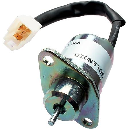 Amazon.com: 12V Fuel Shutoff Solenoid 1503ES-12A5UC5S SA-4569T for Woodward:  Automotive | Woodward Fuel Solenoid 12 Volt Wiring Diagram |  | Amazon.com