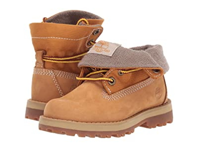 Timberland Kids Courma Roll Top Boot (Toddler/Little Kid) (Wheat Nubuck) Kid