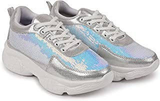 Surexo Women's and Girl's Casuals Fashionable Running Shoe Sneakers