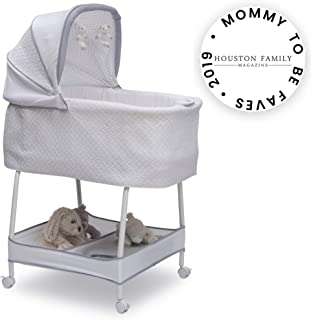 simmons kids silent auto gliding elite bassinet odyssey
