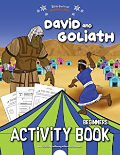 David and Goliath Activity Book (Beginners)