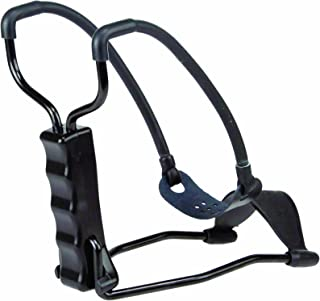 AfterMath Bone Collector Extreme Slingshot with Folding Rubberized Wrist Base and Leather Pouch