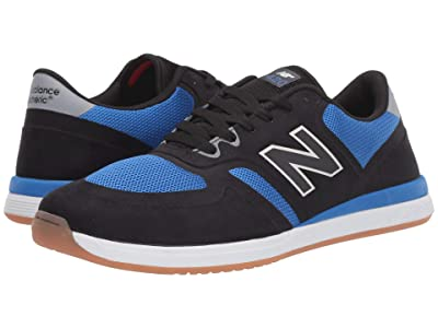 New Balance Numeric 420 (Black/Blue) Men
