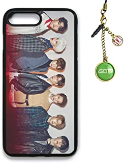 Fanstown Kpop GOT7 iPhone7PLUS/iPhone8PLUS case Flight Log: Arrival + Album Logo Pendant (D02)