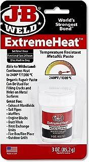 J-B Weld 37901 3 oz. Extreme Heat Temperature Resistant Metallic Paste (Pack of 4)