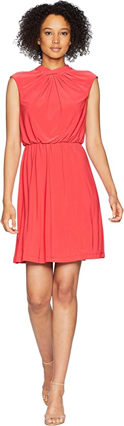 Adrianna Papell Matte Jersey Fit and Flare Dress