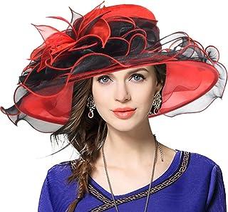 JESSE · RENA Women s Church Derby Dress Fascinator Bridal Cap British Tea  Party Wedding Hat 9d14a5b0bd36