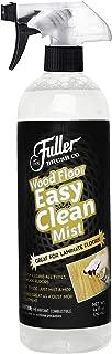 Fuller Brush Wood Floor Easy Clean Mist - Gentle Multi Surface Dust Cleaner - Cleans Laminate Wood, Hardwood, Vinyl & Tiled Bathroom & Kitchen Floors - Quick Dry Mopping Spray