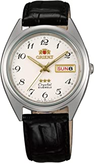 Orient Unisex-Adult Automatic Watch, Analog Display and Leather Strap FAB0000LW9